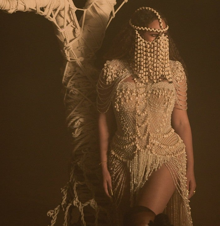 OMG: Beyoncé Dresses Up As Yoruba Goddess - Photos