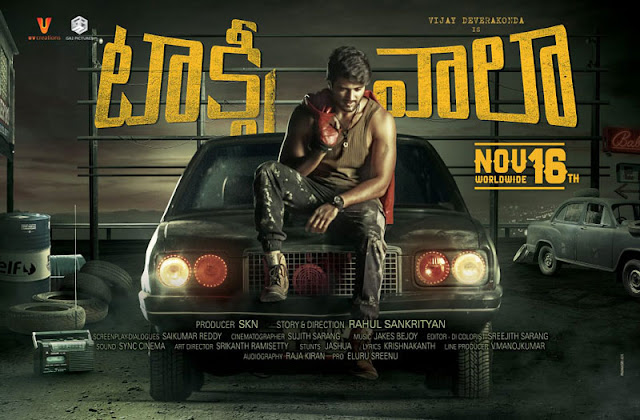 Vijay devarakonda Taxiwala Movie Release Date Nov 16th Poster
