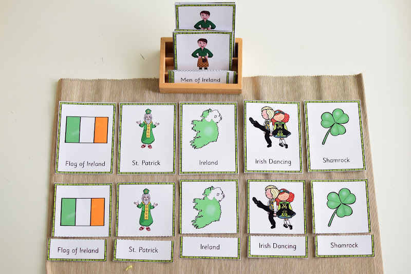 Ireland Country Study: 3-Part Cards