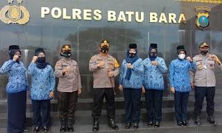Kapolres Batubara AKBP Ikhwan Lubis Ucapkan Selamat Hari KORPRI Nasional Ke-49