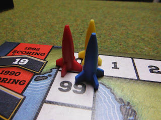 Score markers for The Cold War Board Game
