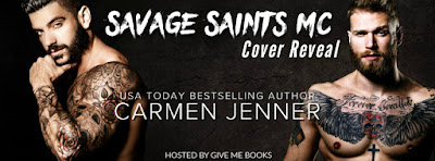 Savage Saints MC by Carmen Jenner Double Cover Reveal + Giveaway