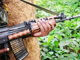 नक्सलियों के खिलाफ पुलिस को मिली सफलता, हथियार के साथ नक्सली गिरफ्तार
