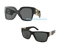 Vinci gratis un occhiale modello Greca Versace (valore 140 euro) e un buono da 50 euro