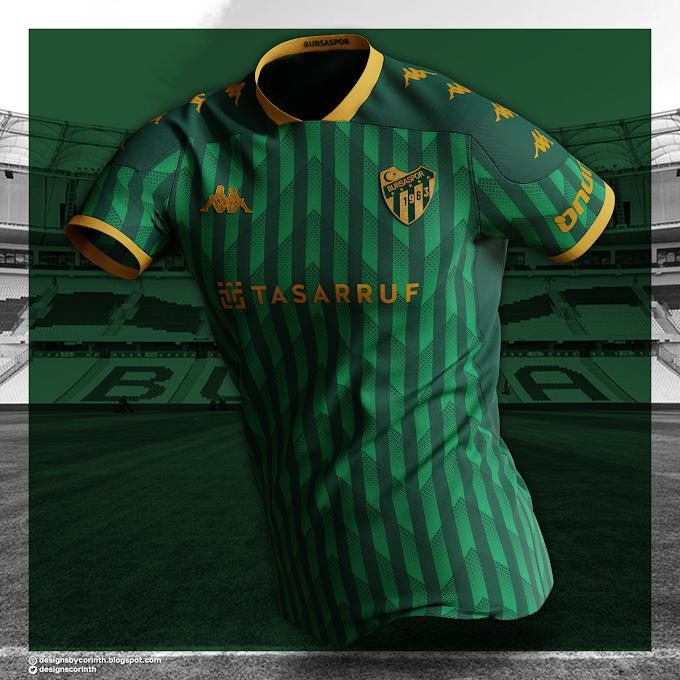 Bursaspor - Away Shirt Concept