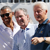 Photo: Former US Presidents, Obama, Bush and Clinton appear together at a Golf Tournament