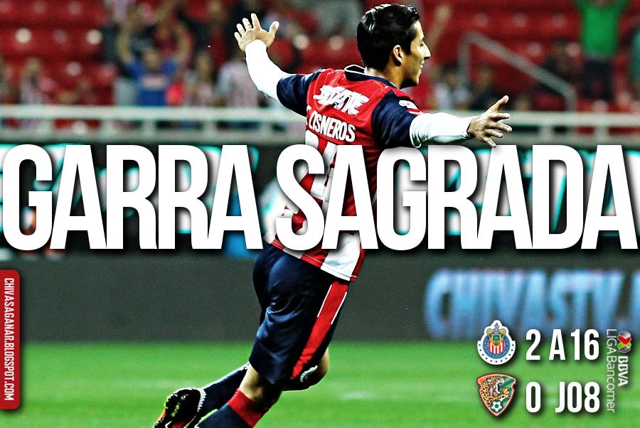 Liga MX : CD Guadalajara 2-0 Chiapas FC - Apertura 2016 - Jornada 8.
