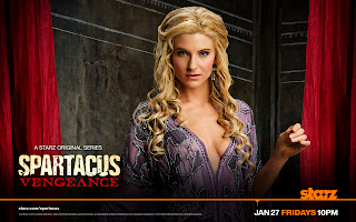 Spartacus Vengeance Ilithyia Poster HD Wallpaper
