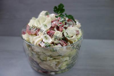 Surówka z sałaty w sosie majonezowym