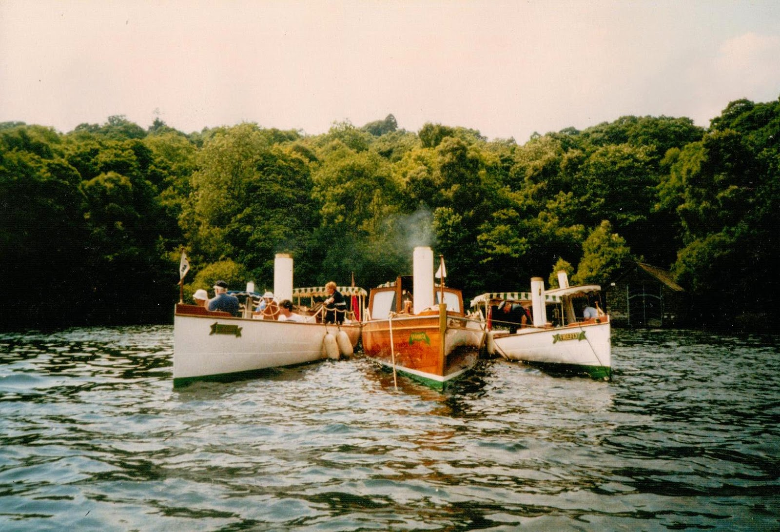 Steam Boat Association Rally on Windermere1991