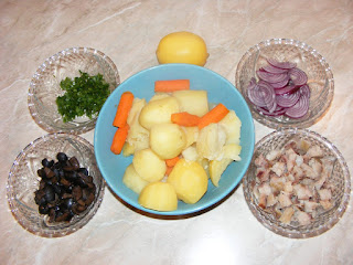 retete cu legume si peste afumat, preparate din legume si peste afumat, retete culinare,