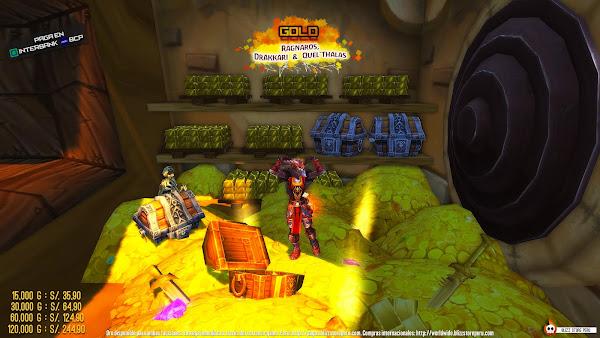 comprar oro de World of Warcraft en peru ragnaros quelthalas drakkari