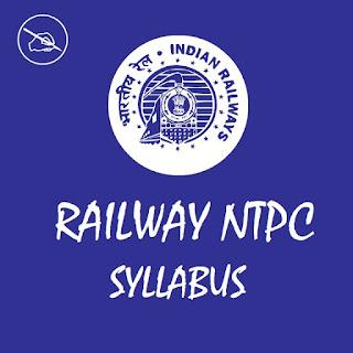 RRB NTPC Syllabus 2020