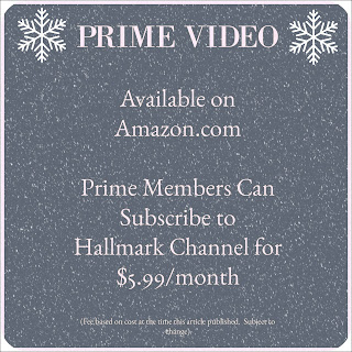 Hallmark Channel Subscription through Amazon