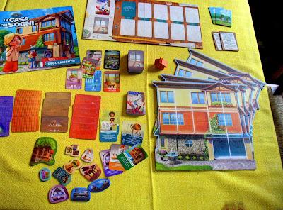 La casa dei sogni - elementi di gioco
