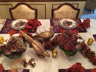Thanksgiving Dining With Organic and Woodland Touch