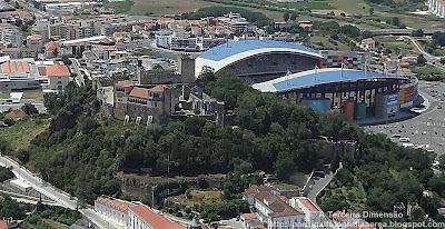 Leiria - Castelo e Estádio Dr. Magalhães Pessoa