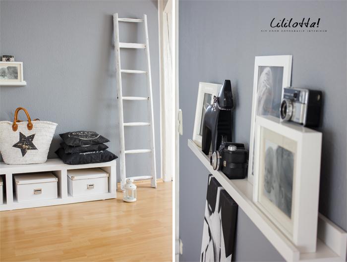eine neue wandfarbe ist wie haare schneiden nur sch ner lililotta. Black Bedroom Furniture Sets. Home Design Ideas