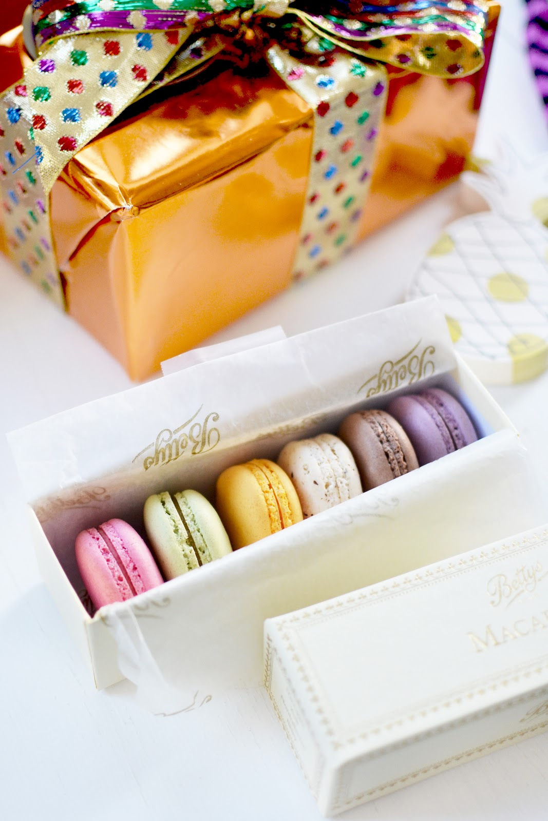 bettys tea room macarons