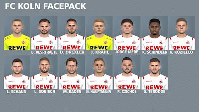 PES 2017 Facepack FC Koln by FR Facemaker