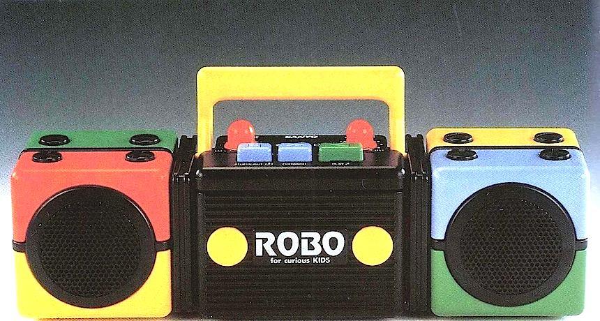 Robo, 1988 toy boom box
