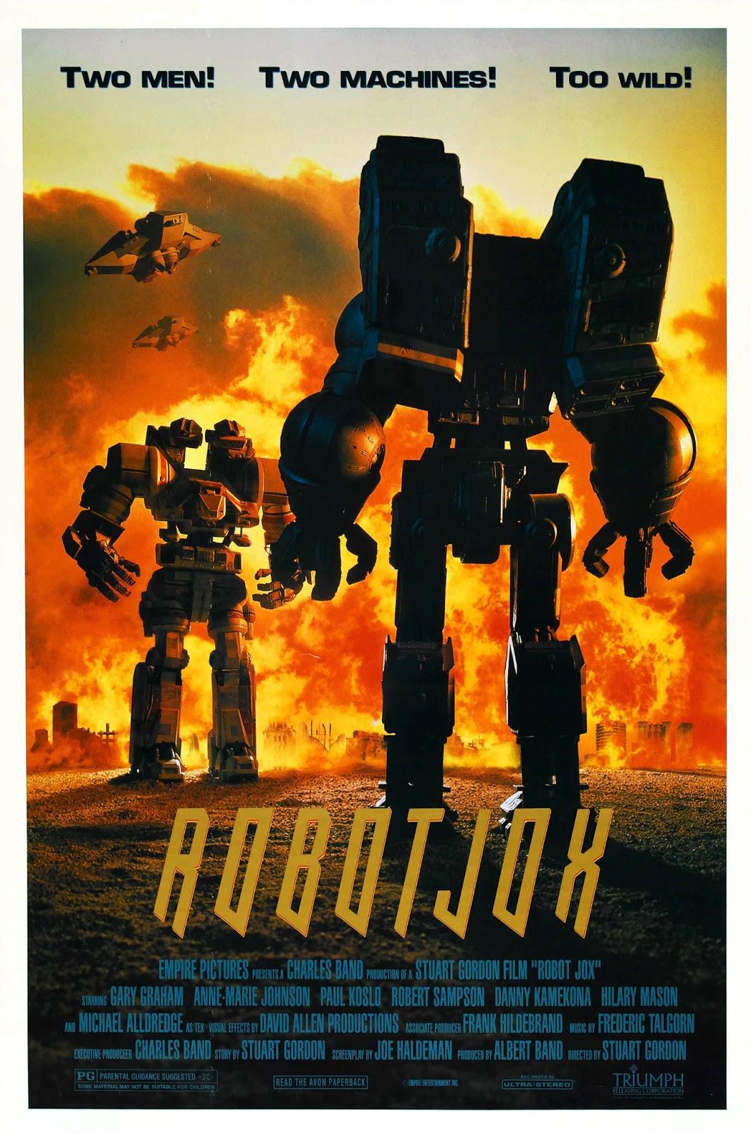 Poster do filme Robo Jox - Os Gladiadores Do Futuro