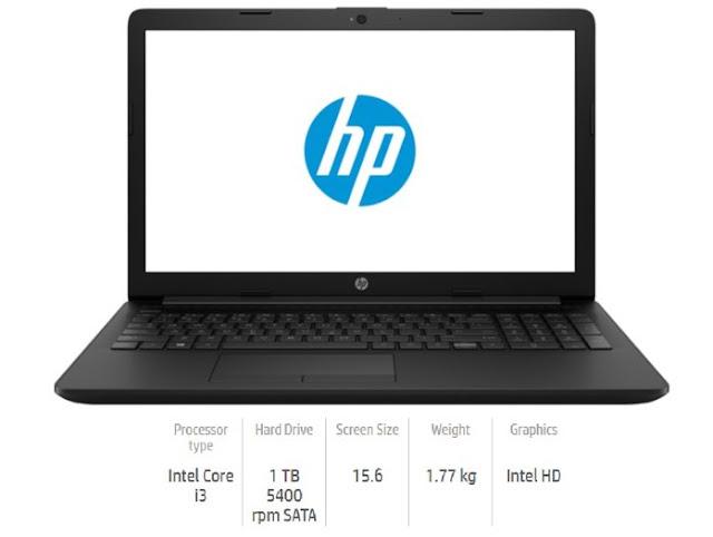 Spesifikasi dan Harga HP 15-DA0030TU