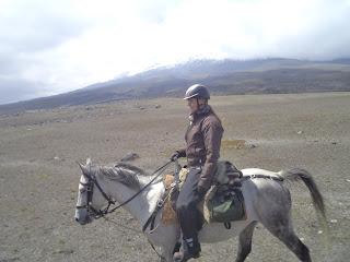 Riitta reissaa, Riitta Kosonen, Cotopaxi, Ecuador