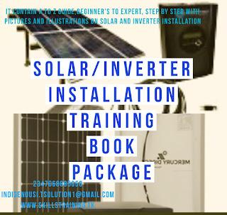Solar inverter Installation training for Nigeria 2020