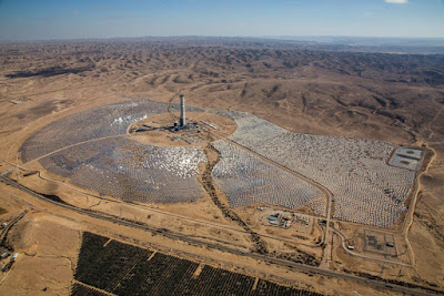 Why is Israel building the world's tallest solar tower?