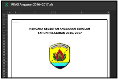 Aplikasi RKAS Untuk SD Sesuai Dengan JUKNIS BOS 2017