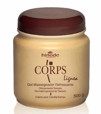 Gel Redutor de Gordura Localizada Corps Lignea Hinode 500g