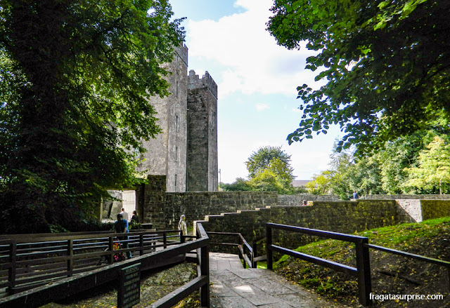 Muralhas do castelo de Bunratty, Irlanda