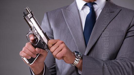 oficial justica funcao risco andar armado