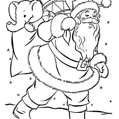 Christmas Coloring Pages Kids