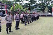 Apel Gabungan TNI-Polri Dalam Rangka Pam Pilkada serentak 2020 Di Wilayah Sumbawa Barat