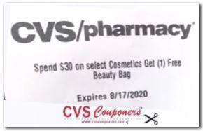Free Makeup Bag Deals at CVS