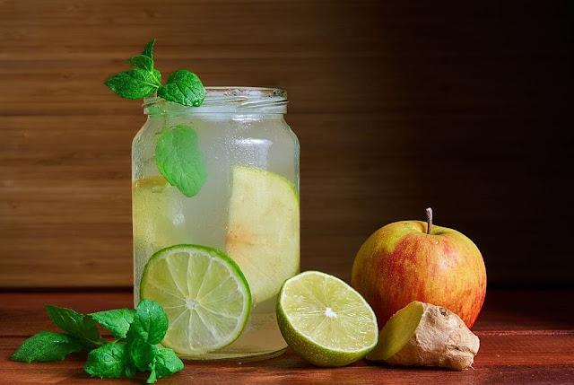 تنظيف القولون بثلاث مكونات فقط تفاح والزنجبيل والليمون