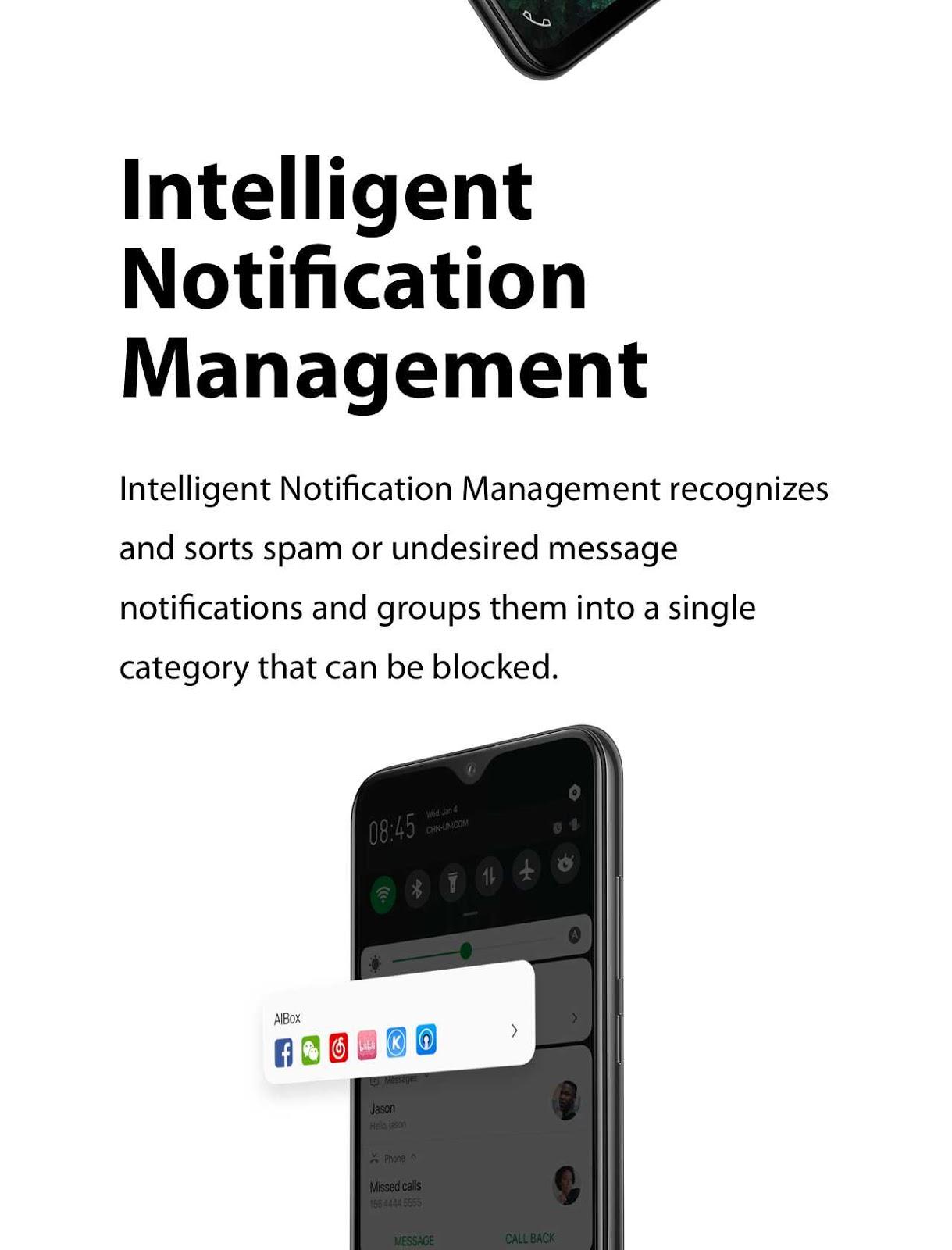 XOS 5.0 Cheetah Intelligent Notifications Management