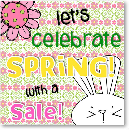 Spring Sale: First Grade Schoolhouse: Spring Sale