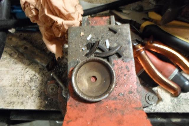 cloche de pompe démontée