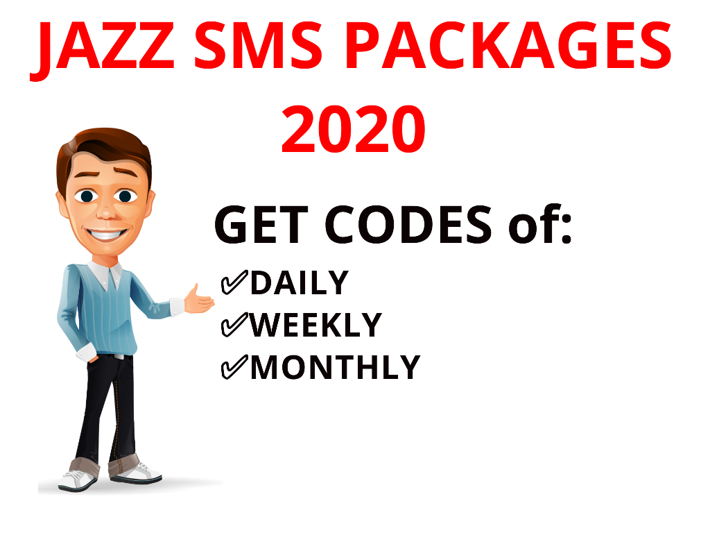 Mobilink Jazz Warid SMS Package comes with Jazz Daily SMS Packages, Jazz Weekly SMS Pkg and Jazz Monthly Message Package Get Codes of all in one jazz offers...