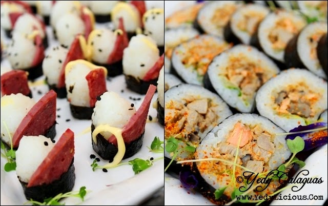 Maki Sushi United Taste of America Buffet at F1 Hotel Manila