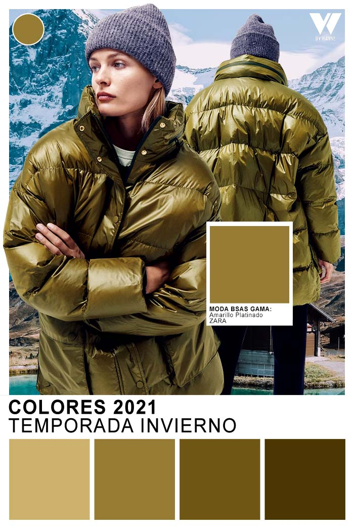 Verdes de moda otoño invierno 2021moda mujer