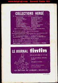 Recueil du journal Tintin, numéro 151, 1980
