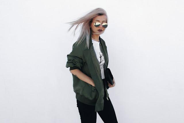 army jacket outfit ideas pinterest