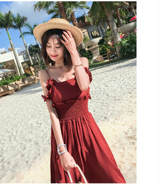 Vay Maxi Ho Lung Red