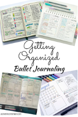 Getting Organized: Bullet Journaling - Authentic in My Skin - authenticinmyskin.com