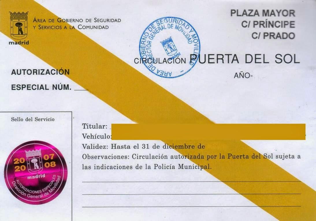 Autorizacion de la Administracion Publica