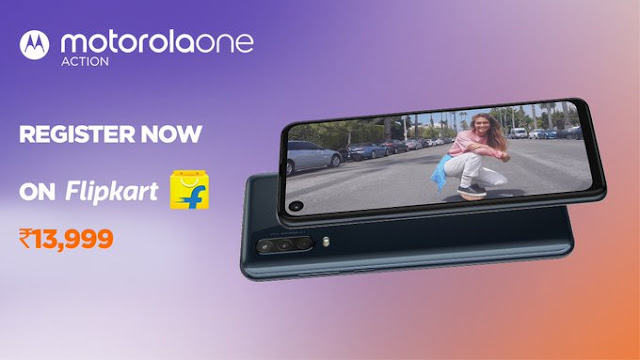Motorola One Action - Android One-based launched at Rs. 13,999